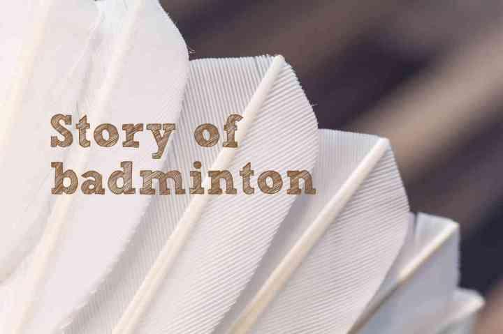Story of badminton