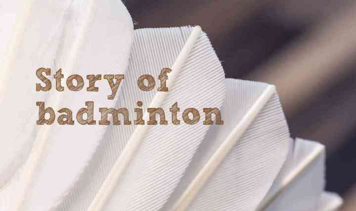 Story of badminton