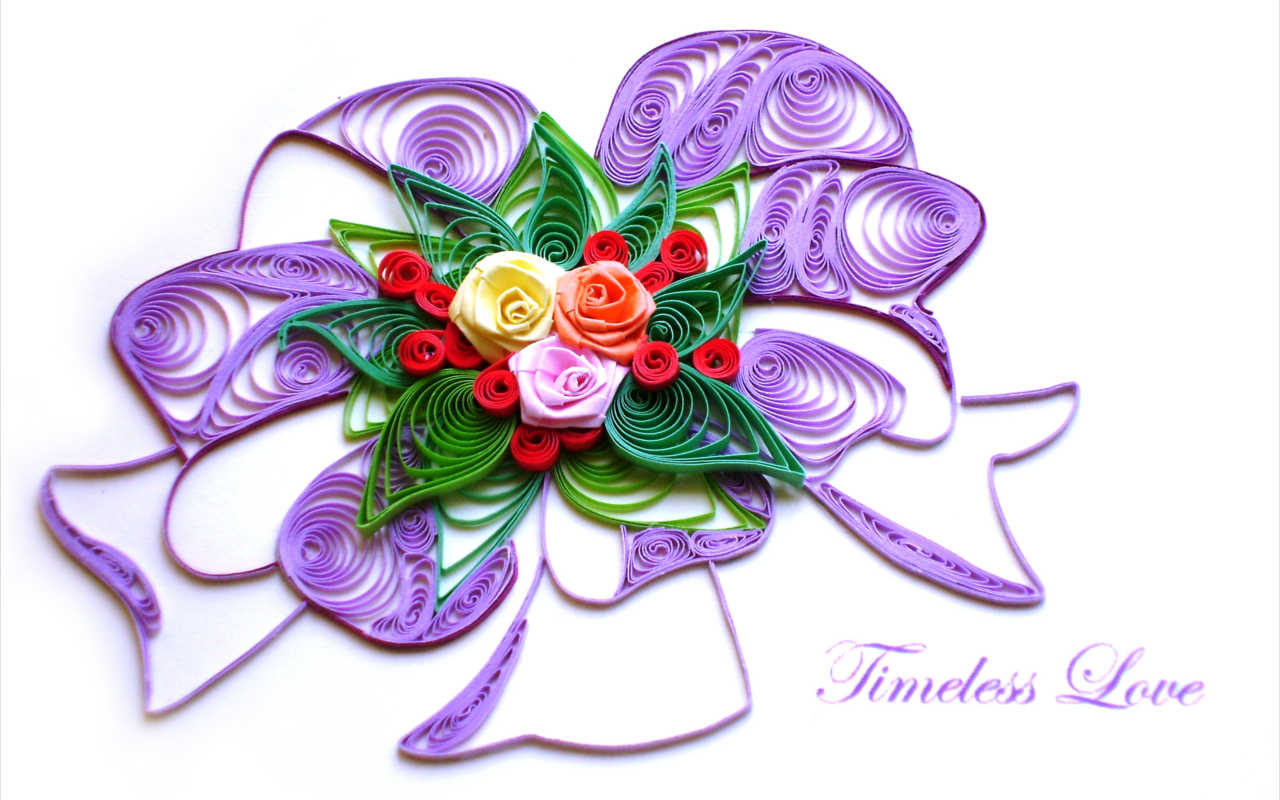 Master paper quilling