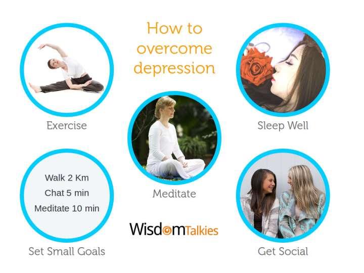 tips to overcome depression