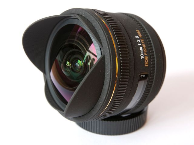 Introduction to wide angle lens