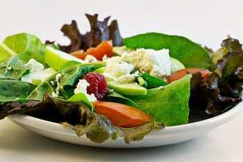 lose weight diet - salad
