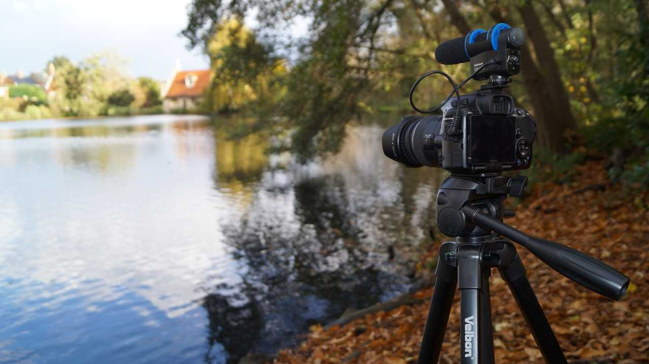 Shooting videos with film effect
