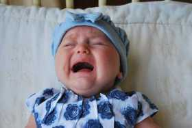 sound of a crying baby