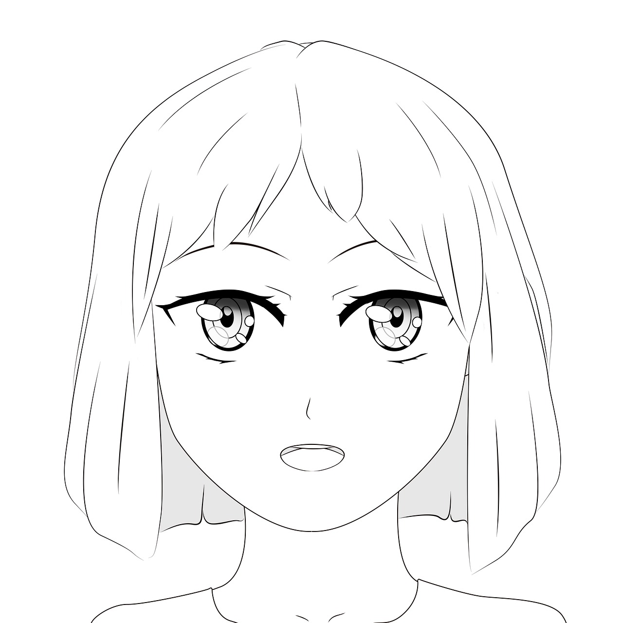 Drawing a face is an art of representing your skills.