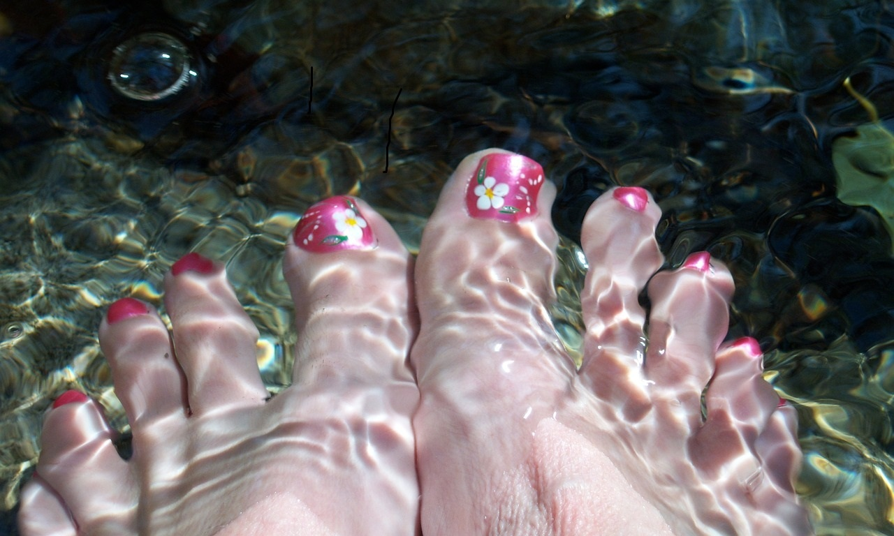Fish pedicure is very relaxing for mind and health.