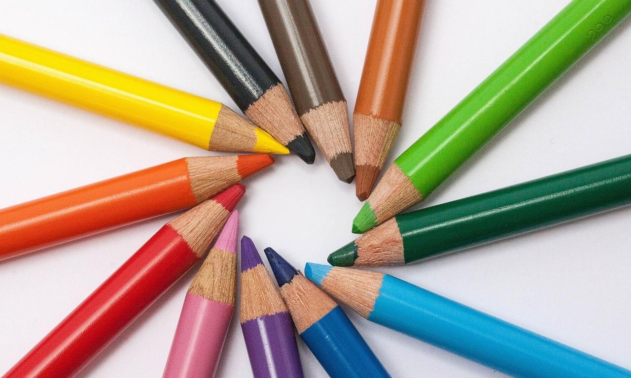 Different shade of pencil for sketching