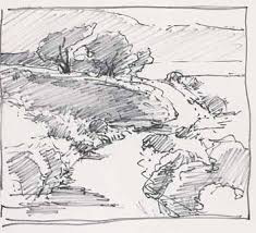 Sketch of path