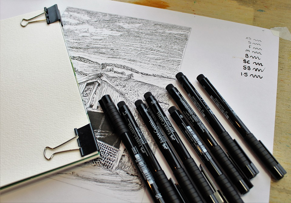 Good tools are really important for sketching.